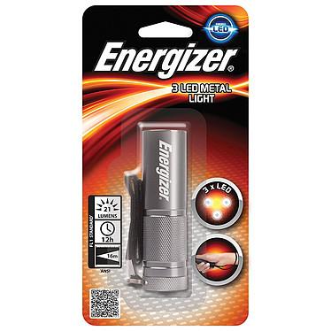 Energizer 3 LED Metal Light Lampe torche LED