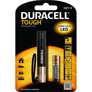 Duracell Tough Key-3 Lampe torche LED compacte
