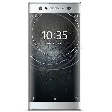 "Sony Xperia XA2 Ultra Dual SIM 32 Go Argent Smartphone 4G-LTE Dual SIM - Snapdragon 630 8-Core 2.2 GHz - RAM 4 Go - Ecran tactile 6"" 1080 x 1920 - 32 Go - NFC/Bluetooth 5.0 - 3580 mAh - Android 8.0"