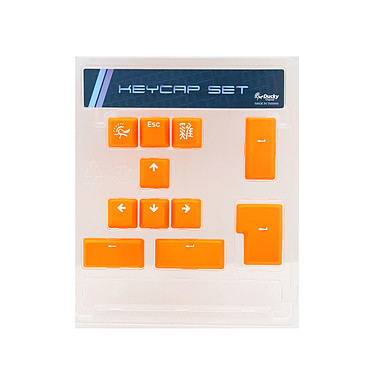 Ducky Channel ABS Keycap Set (orange)