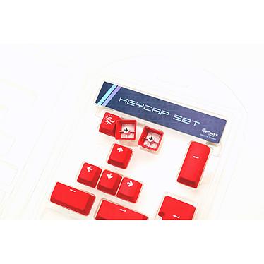 Acheter Ducky Channel ABS Keycap Set (rouge)
