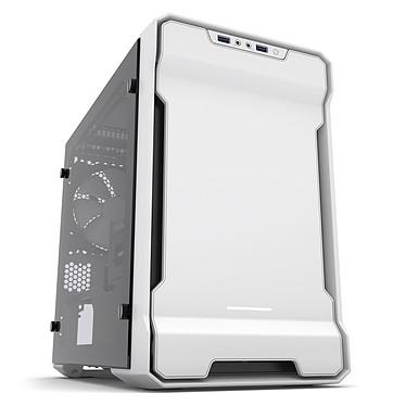 Phanteks Enthoo Evolv ITX TG (blanc/noir) Boîtier mini tour avec fenêtre latérale en verre trempé
