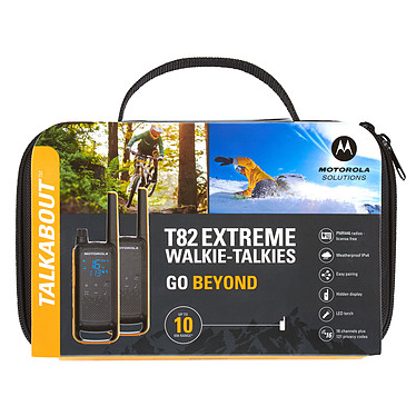 Motorola TALKABOUT T82 Extreme Twin Pack pas cher