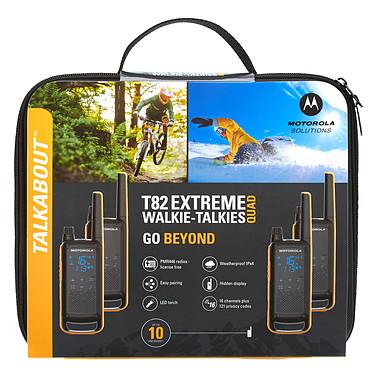 Motorola TALKABOUT T82 Extreme Quad Pack pas cher