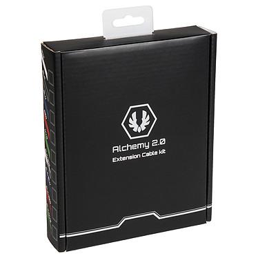 BitFenix Alchemy - Extension Cable Kit - noir et bleu pas cher