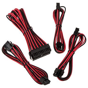 BitFenix Alchemy - Extension Cable Kit - noir et rouge
