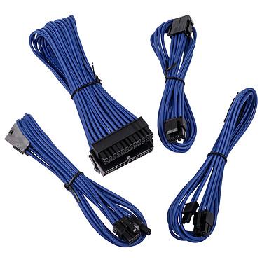 BitFenix Alchemy - Extension Cable Kit - bleu Kit de rallonges de câbles d'alimentation avec manchons
