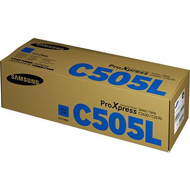 Samsung CLT-C505L Toner Cyan (3 500 pages à 5%)
