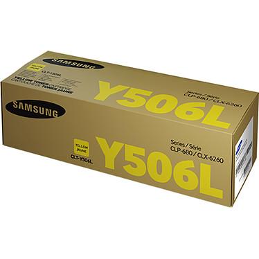 Samsung CLT-Y506L Toner Jaune (3 500 pages à 5%)