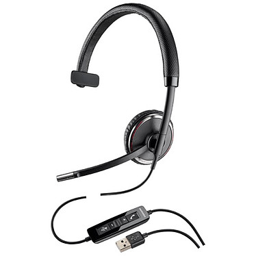 Plantronics Blackwire C510-M Casque-micro USB monaural optimisé pour Microsoft Lync & Skype for Business