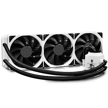 Deepcool Gamer Storm Captain 360EX RGB (Blanc) Kit de refroidissement liquide RGB  (watercooling) 3 ventilateurs pour processeur