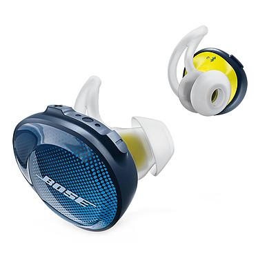 Bose SoundSport Free Bleu nuit Écouteurs sport intra-auriculaires sans fil Bluetooth avec télécommande et micro