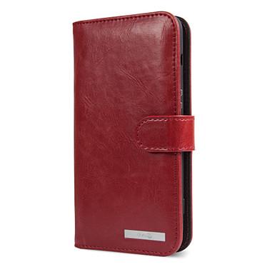 Doro Wallet Case Rouge 8040 Étui portefeuille pour Doro 8040