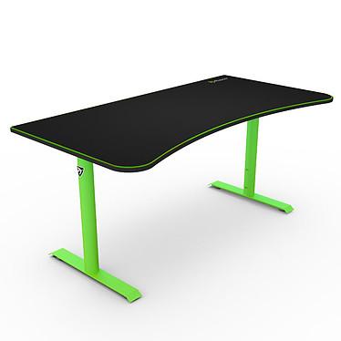 Arozzi Arena Vert Bureau ergonomique pour gamer avec hauteur réglable et système de gestion des câbles