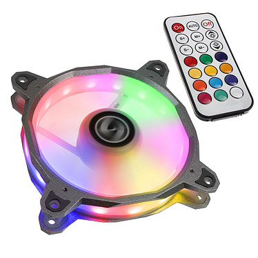 Lian Li Bora 120 RGB (argent) + contrôleur RGB