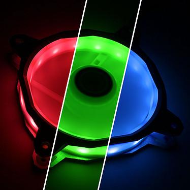 Acheter Lian Li Bora 120 RGB (argent) par 3 + contrôleur RGB