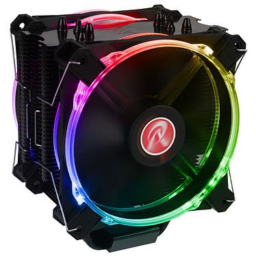 Raijintek Leto Pro RGB Ventilateur de processeur PWM à LED RGB pour socket Intel et AMD
