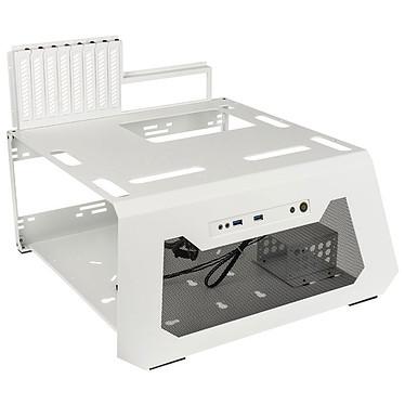 Lian Li PC-T70 (Blanc) Boitier pour test benchmarks en aluminium (coloris blanc)