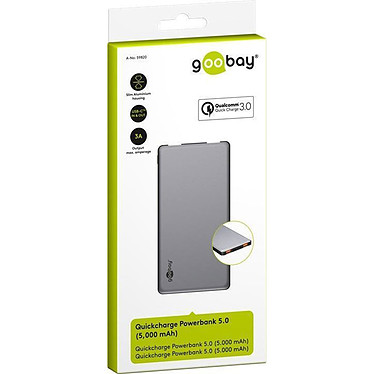 Goobay Quickcharge Powerbank 5.0 pas cher