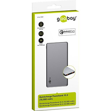 Goobay Quickcharge Powerbank 10.0 pas cher