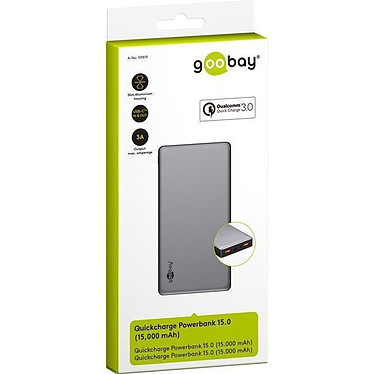 Goobay Quickcharge Powerbank 15.0 pas cher