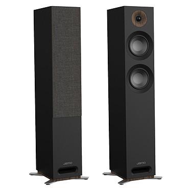 Jamo S 807 Noir Enceinte colonne 3 voies compatible Dolby Atmos (par paire)