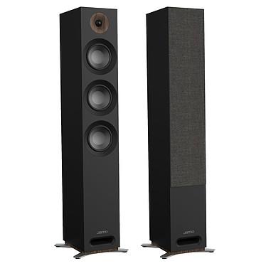 Jamo S 809 Noir Enceinte colonne 4 voies compatible Dolby Atmos (par paire)