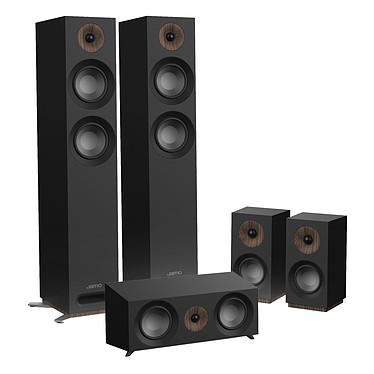 Jamo S 807 HCS Noir Pack d'enceintes 5.0 compatible Dolby Atmos
