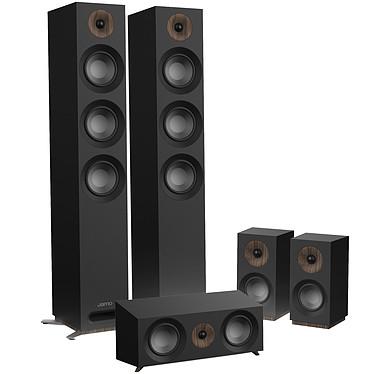 Jamo S 809 HCS Noir Pack d'enceintes 5.0 compatible Dolby Atmos
