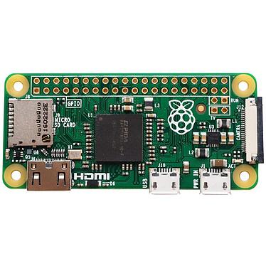 Raspberry Pi Zero v1.3 Carte mère ultra-compacte avec processeur ARM11 Broadcom BCM2835 Single Core 1 Ghz- RAM 512 Mo -  mini HDMI - 2 x micro USB - CSI - micro-SD