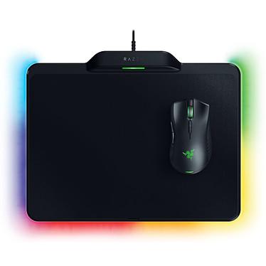 Razer Mamba + Firefly HyperFlux Souris sans fil et tapis pour gamer à technologie Razer HyperFlux - droitier - capteur optique 16000 dpi - 9 boutons programmables - tapis de souris double surface - rétroéclairage RGB