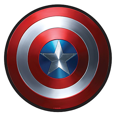 Tapis Marvel Captain America Tapis de souris Captain America 3 mm