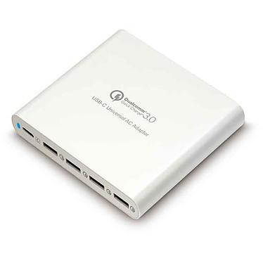HyperJuice 80W USB-C Charger Adaptateur secteur universel 80W 1 USB Type-C / 4 Ports USB 3.0