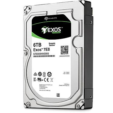 Avis Seagate Exos 7E8 3.5 HDD 6 To (ST6000NM0095)