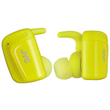 JVC HA-ET90BT Jaune Ecouteurs sport intra-auriculaires sans fil IPX5 Bluetooth avec commandes et micro