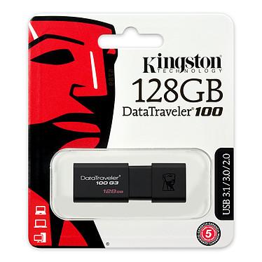 Kingston DataTraveler 100 G3 128 Go a bajo precio