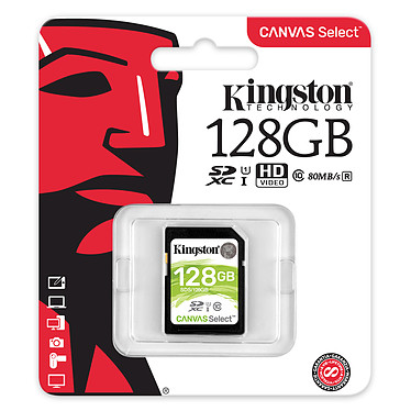 Avis Kingston Canvas Select SDS/128GB