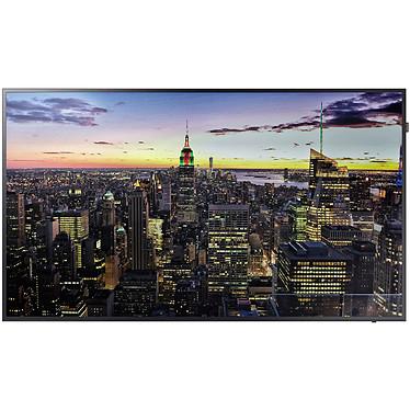 """Samsung 75"""" LED QB75H 3840 x 2160 pixels 16:9 - 5000:1 - 8 ms - 120 Hz - DisplayPort/HDMI/DVI - USB - Wi-Fi - Noir"""