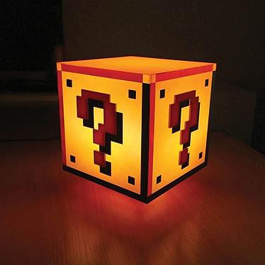 Avis Lampe Super Mario Question Block