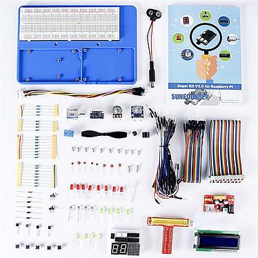 SunFounder Super Kit V3 pour Raspberry Pi Super Kit de composants et puces pour Raspberry Pi B / B+ / 2 / 3