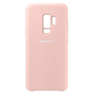 Samsung Coque Silicone Rose Galaxy S9+ pas cher