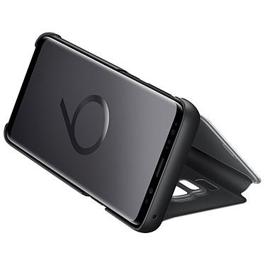 Samsung Clear View Cover Noir Galaxy S9 pas cher