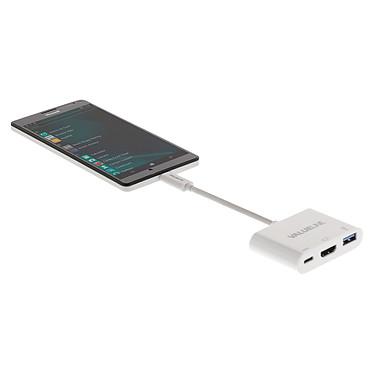 Valueline Adaptateur USB 3.1 vers USB / USB-C / HDMI pas cher
