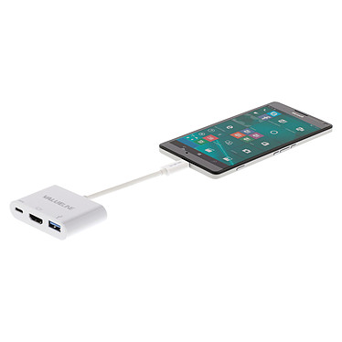 Acheter Valueline Adaptateur USB 3.1 vers USB / USB-C / HDMI