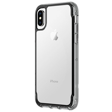 Griffin Survivor Clear Noir/Fumé/Transparent iPhone X