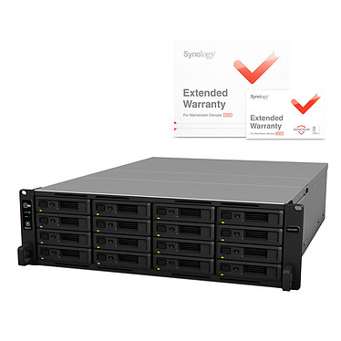 Synology RackStation RS2818RP+ et Synology EW202