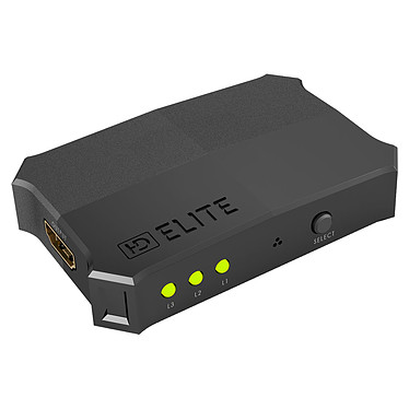 HDElite PowerHD TurboHD Switch 3 ports