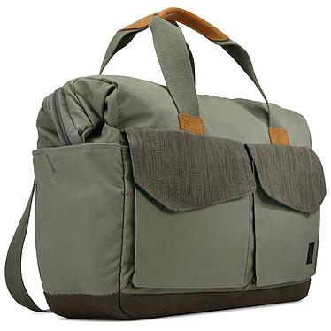 """Case Logic Lodo Bag (vert) Sacoche pour ordinateur portable (jusqu'à 15'') et tablette (jusqu'à 10.1"""")"""