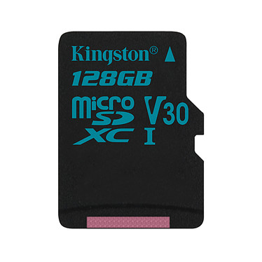 Kingston Canvas Go! SDCG2/128GBSP Carte mémoire microSDXC UHS-I U3 128 Go