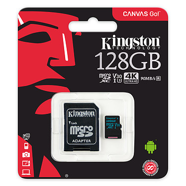 Avis Kingston Canvas Go! SDCG2/128GB